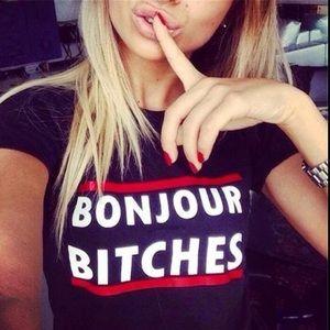 Bonjour T Shirt